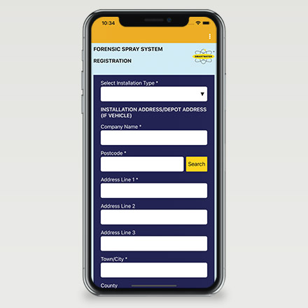 Smartwater App Screenshot 02
