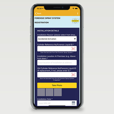 Smartwater App Screenshot 03